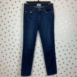 Paige Skyline Ankle Peg Rae Skinny Jeans